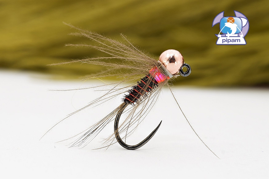LV pink thorax CDC PT nymph
