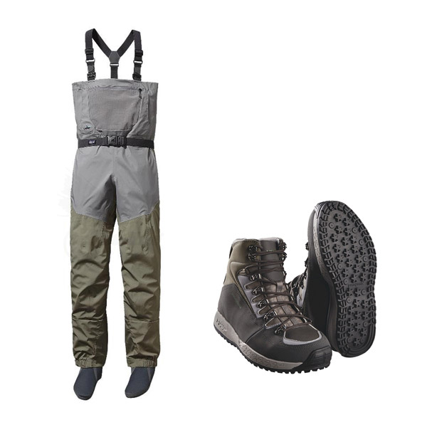 TL Patagonia skeena si stichy waders and boots set
